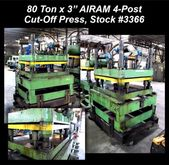 80 Ton x 3″ AIRAM 4-Post Cut-Of