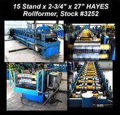 15 Stand x 2-3/4″ x 27″ HAYES A