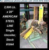 Used 2,500 Lb. x 20″