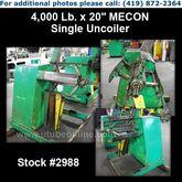 "MECON 4,000 Lb. x 20"" Single Un"