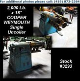 "COOPER WEYMOUTH 2,000 Lb. x 18"""