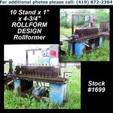 10 Stand x 1″ x 4-3/4″ ROLLFORM