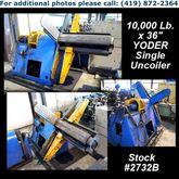 """YODER 10,000 Lb. x 36"""" Single U"""