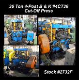 "1967 B & K 4CT36 36 Ton x 4"" 4-"