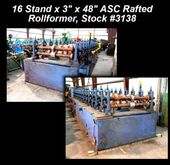 16 Stand x 3″ x 48″ ASC Rafted