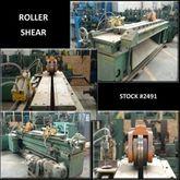 68″ x .125″ GUILD Roller Shear