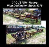3″ CUSTOM Rotary Plug Dedimpler