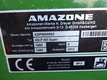 2012 AMAZONE ADP403 SUPER 4 MET
