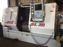 SL30T HAAS W/ HAAS 300 BARFEEDE