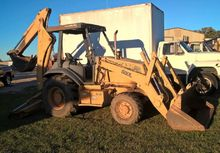 Case 580L 4x4 Rigid Backhoes