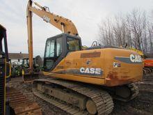 2011 Case CX210B Track excavato