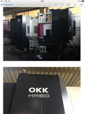 Horizontal machining center OKK