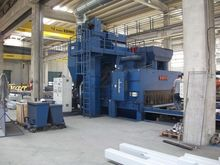 Shot blasting machine type OMSG