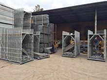 Scaffolding ceta used galvanize