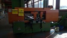Semi automatic band sawing mach
