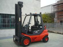Used Forklift, LINDE