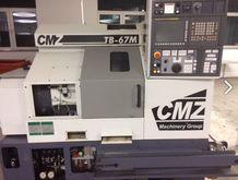CNC lathe CMZ TB67M POWERED