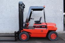 Forklift LINDE AG Mod. H40