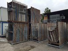 Frames used dalmine scaffolding
