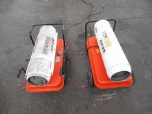 2 hot air generators 25000 AER