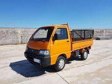 Truck Piaggio Porter 4x4 ribalt