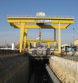 Portal double girder cranes of
