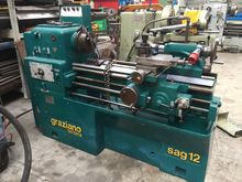 Used Lathe SAG 12 in