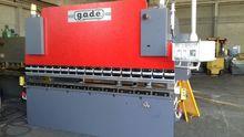 Pressbrake GADE 3000x80 / 100