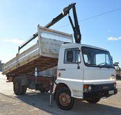 Truck Fiat Iveco 79 - cranes an