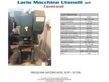 PRESS SAN GIACOMO MOD. 30 PF -
