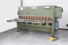 SHEAR SHEET CUTTING GUILLOTINE