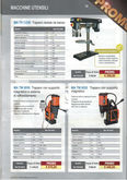 RADIAL DRILL BENCH - DRILLS WIT