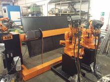 ISLAND ROBOT ABB 2400L WELDING