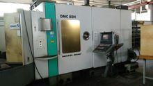 Horizontal machining center DEC