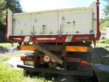 FIAT 160RA truck with crane