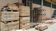 Stock of building materials