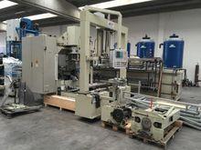 Machine for machining motor sta
