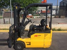 Plated electronic lift truck