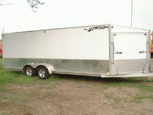 2005 Thule Snowmobile Trailer