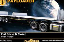 2015 Payloader Brick Trailer