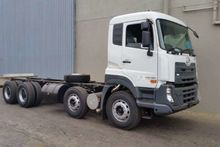 2017 UD Rigid 8x4 Freight Carri
