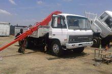 1996 Nissan CM 12 crane truck
