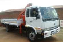 2005 Nissan UD 80 WITH 6 TON FA