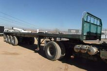 Tri Axle Flat Deck Trailer
