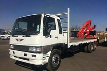 1997 Hino RANGER FLATBED WITH C