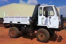 1995 Samil 20 Crane Truck