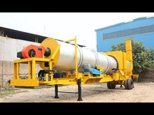 PORTABLE 100 TPH ASPHALT DRUM M
