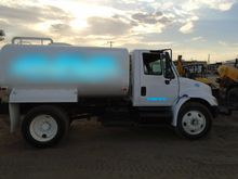 2000 Gallon Water Truck Interna