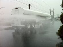 Water Trailer 8000 Gallon Doubl