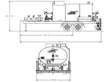 Seaman Gunnison DTD-1200 gal Di